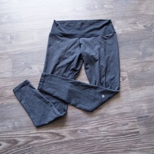 Lululemon Charcoal Gray Black Leggings